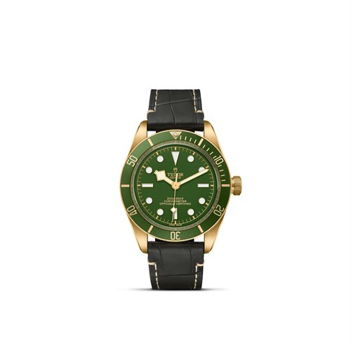 Black Bay Fifty-Eight Green Ind Y-Croco Brown